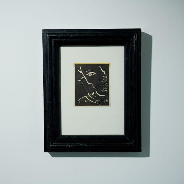 'Ex-Libris: Aus der Bibliothek von Tut und Oskar Schlemmer' by Oskar Schlemmer