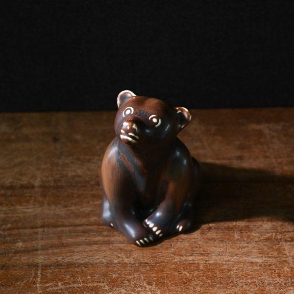 Sitting Bear by Gunnar Nylund