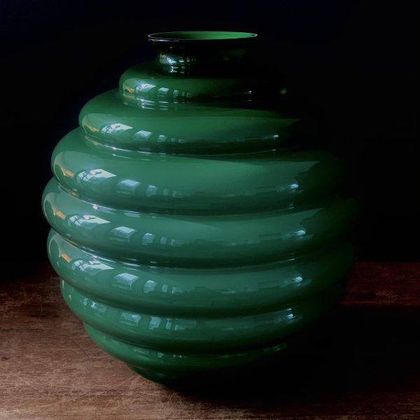 Venini Glass vase 'Deco'