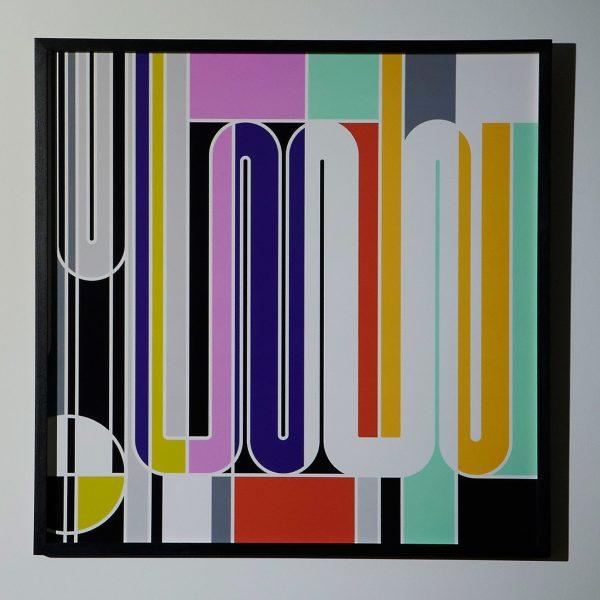 'Geigy' by Sarah Morris