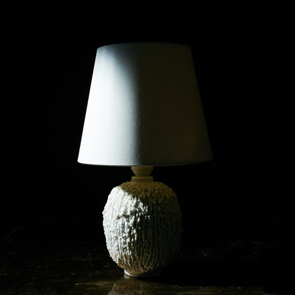 Chamotte Table Lamp by Gunnar Nylund