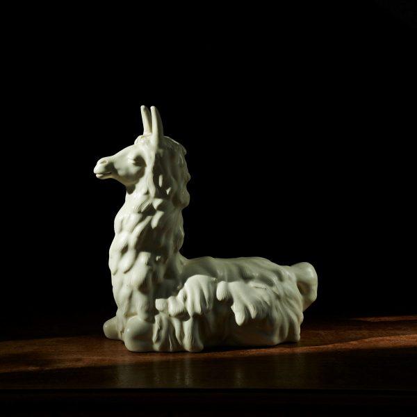 Lama sculpture designed by Giovanni Gariboldi