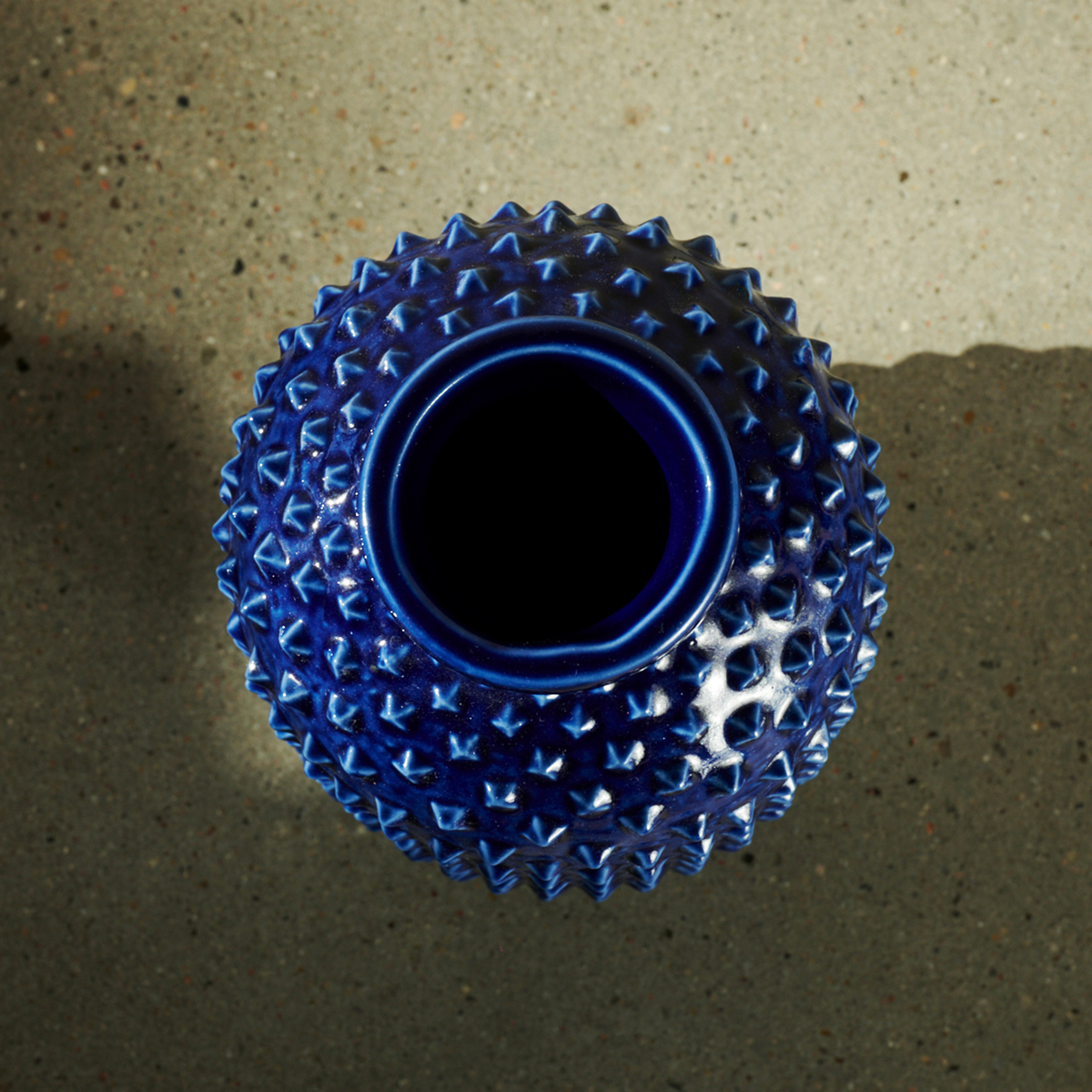 Vase with Spiky Surface by Gunnar Nylund